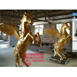 天顺雕塑 铸铜马踏飞燕制作-六盘水市铜马图片