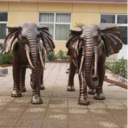 铸铜大象雕塑厂家、天顺雕塑、铜大象图片