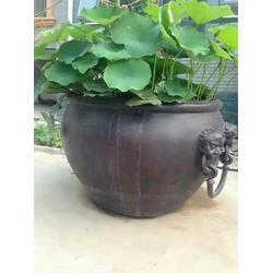 天顺雕塑 红铜缸制作-深圳铜缸图片