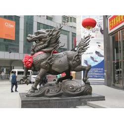 厂家直供(图)_故宫铜麒麟雕塑制作_宿州铜麒麟图片