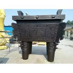 六盤水市銅鼎-銅鼎廠家-大型銅鼎制作圖片