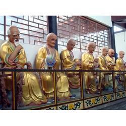 十八罗汉铜像厂家|欢迎考察(在线咨询)|广西十八罗汉铜像图片