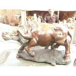 (铜牛)拓荒铜牛雕塑-实力商家图片