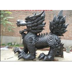 厂家直销 景区铜麒麟-凉山彝族自治区铜麒麟图片