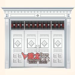 大名县防盗门-防盗门厂家加盟-腾龙门业(优质商家)图片
