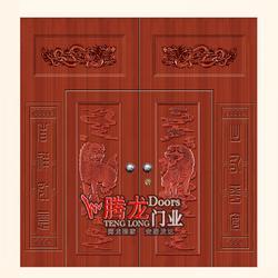 防盗门哪家好|腾龙门业(在线咨询)|郑州防盗门图片
