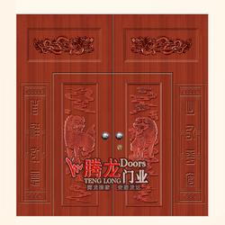 柘城钢板门|腾龙门业|不锈钢板门图片