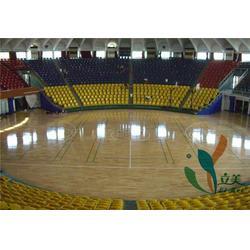 乌海枫木运动地板-立美体育为你定制-体育馆枫木运动地板图片