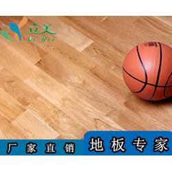 立美体育促销-运动木地板品牌-南海运动木地板图片
