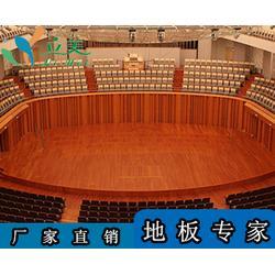 健身房枫木运动地板-立美体育-江海枫木运动地板图片