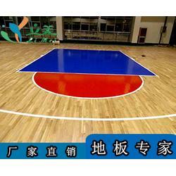 运动木地板厂家-立美体育(在线咨询)浈江运动木地板图片