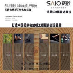 陕西防静电地板-防静电地板施工方案-赛欧防静电地板图片