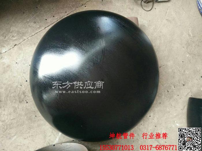 驻马店压力容器用国标碳钢椭圆封头管帽供应商 坤航管件