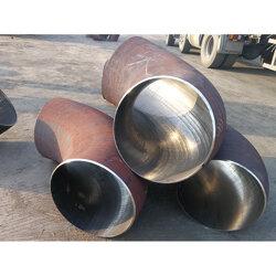 坤航镀锌碳钢推制弯头实体厂家销售按客户要求加工图片