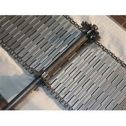 雙節距鏈條輸送帶網(圖)-耐高溫白鋼輸送網帶-鄭州輸送帶圖片