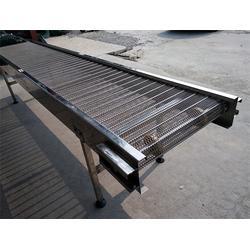安平森喆金属制品公司 不锈钢冲孔板输送机-青岛输送机图片