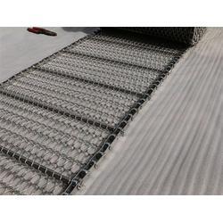 上料机通风输送网带、吉安输送带、钢丝编织网带厂家(查看)图片