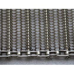 载重冲孔钢板传送带-不锈钢耐磨输送板链-绵阳输送带图片