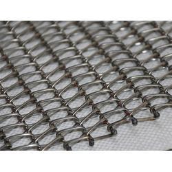 佛山网带-金属网带-挡边式链条金属网带图片