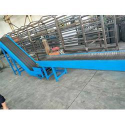 温州网带输送机-冲孔链板输送机-不锈钢链板输送机厂家图片