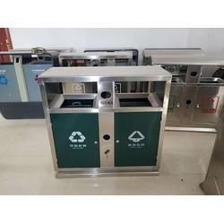 河南不锈钢垃圾桶,【安耐稳】,河南不锈钢垃圾桶商 图片