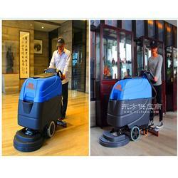 酒店超市清洁使用手推式洗地机图片