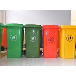 福州垃圾桶、福州皇庭园林、塑料垃圾桶图片