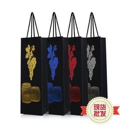 双支红酒袋厂家直销-承铭(在线咨询)双支红酒袋图片