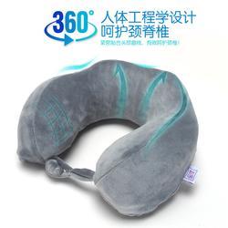 养生U型枕厂|广州养生U型枕|新眠家居款式多图片