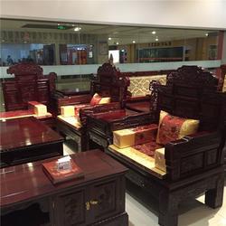 黑酸枝沙发零售,黑酸枝沙发,鸿盛家具美观大方图片