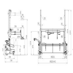 山东二手电动运输车_先创纺织机械厂(图)图片