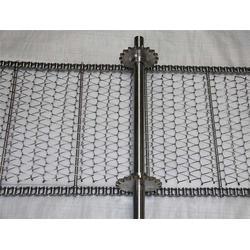 藥材清洗鋼板輸送帶-寧波輸送帶-耐高溫打孔鏈板網圖片