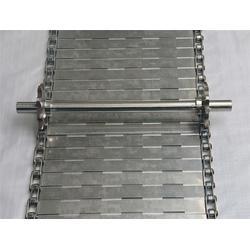 铁皮废料粉碎厚板传送带-耐高温不锈钢网带(在线)-东莞传送带图片