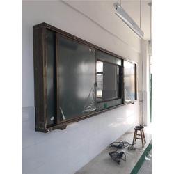 珂俊教学质量可靠(图),推拉黑板厂家,延安推拉黑板