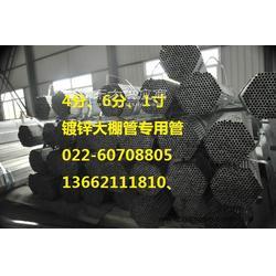 大棚管-6分热镀锌大棚管生产厂家图片