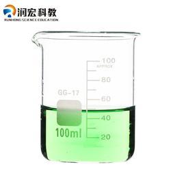 中学化学玻璃仪器u型,玻璃仪器,润宏科教(查看)图片