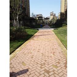 混凝土彩砖,混凝土彩砖,绿地建材图片