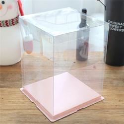 透明生日蛋糕盒-蛋糕盒-安晟包裝(按需定制)圖片