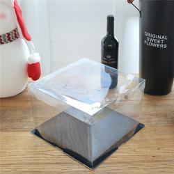 透明环保PET蛋糕盒哪里有卖、安晟包装、PET蛋糕盒图片