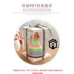 环保透明蛋糕盒包装图片