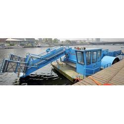 水草收割船|亚凯清淤机械|水草收割船图片