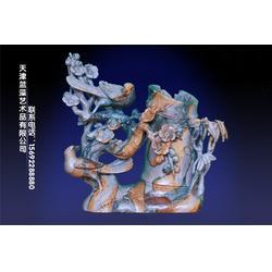 叠层石笔筒 叠层石 蓝藻艺术品(查看)图片