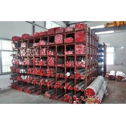 盛鑫美材料齐全、坪地铝棒、6063工业铝棒图片