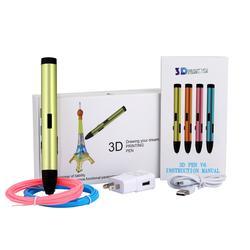 新款3D立体打印笔儿童绘画创意 笔3D涂鸦笔 礼品3D Printer Pen图片