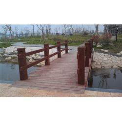 【万德木业】(图),防腐木护栏订做,防腐木护栏图片