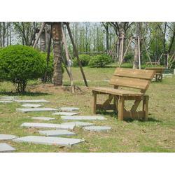 景观防腐木座椅-万德木业坚持高品质-防腐木座椅图片