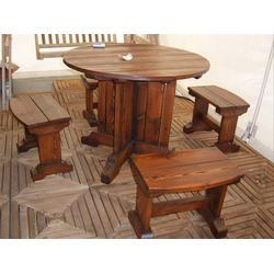 公园防腐木椅子,丽水防腐木椅子,万德木业质量上乘(查看)图片