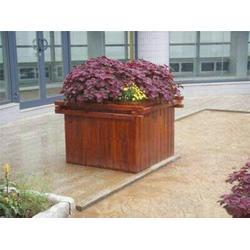 公园花箱商 贵州公园花箱 万德木业优质供应商