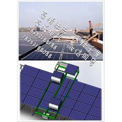 武汉光伏板清洗,豪沃电气,太阳能光伏板清洗图片