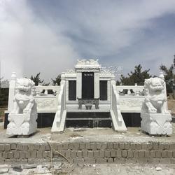中国黑墓碑 家庭豪华墓碑加工定制图片